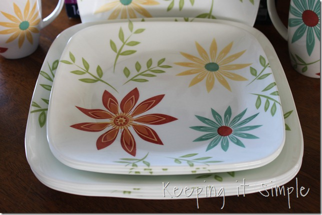 corelle dishware happy days (2)