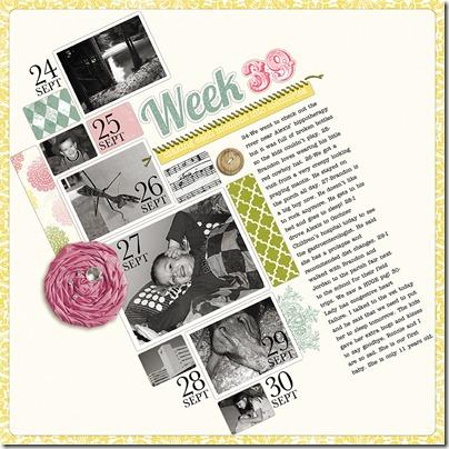 Week 39 (Sept 24, 2011 to Sept 30, 2011) WEB