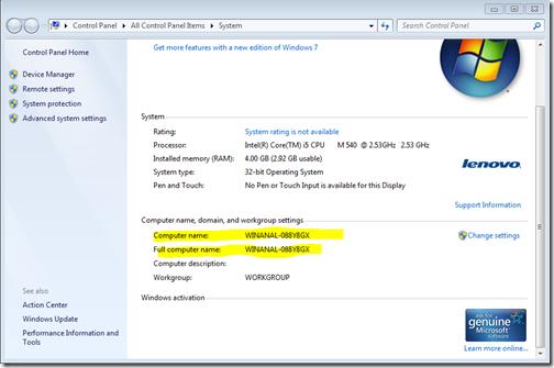 New Delhi PowerShell User Group.: Set Computer Name using PowerShell.