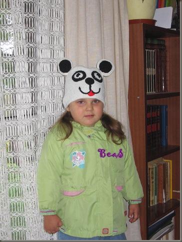 panda czapa 017