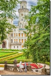 Фотографии свадьбы - Замок Глубока и Прага