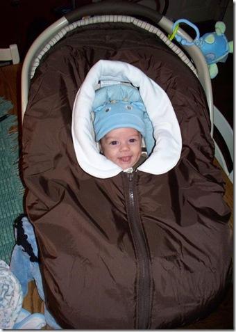 Wyatt almost 3 months old