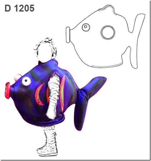 Como hacer un disfraz de pez para niño - Imagui