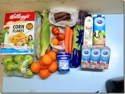 weekly grocery