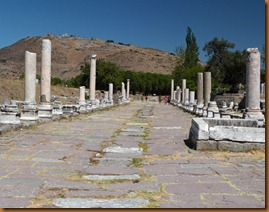 pergamon, way to Asklepion