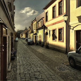From old town Třebíč by Ivan Rusek - City,  Street & Park  Historic Districts