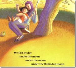 image from Under the Ramadan Moon, by Sylvia Whitman