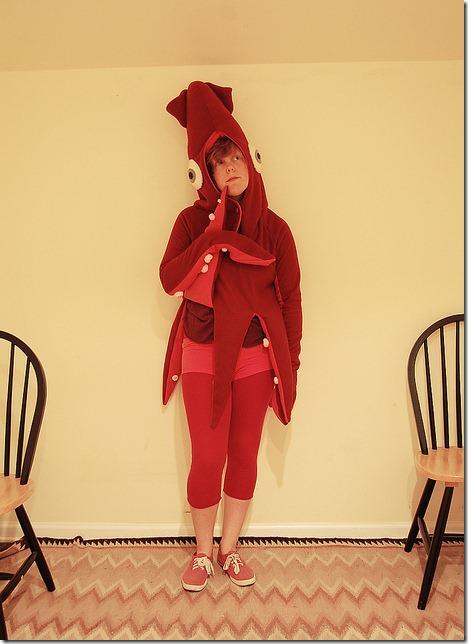 3 disfraz de calamar