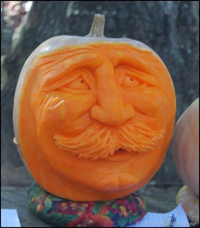 carved pumpkin head 6