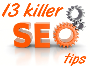 13 killer SEO tips