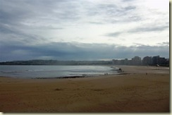 Gijon Beach and Bay (Small)