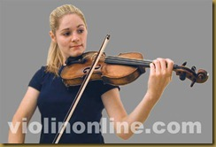 violin bow placement - tip