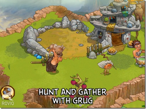 Hunt and gatjher with grug