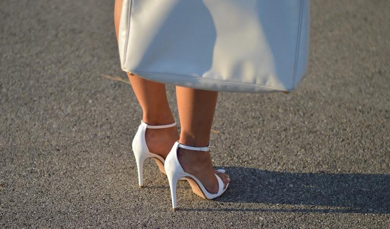 High Heels, Zara, Heels, Zara Sandals, White Sandals, Zara White Sandals