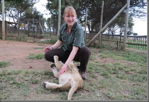 Laura and Lion