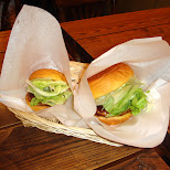 freshness burger we love it in Shibuya, Tokyo, Japan