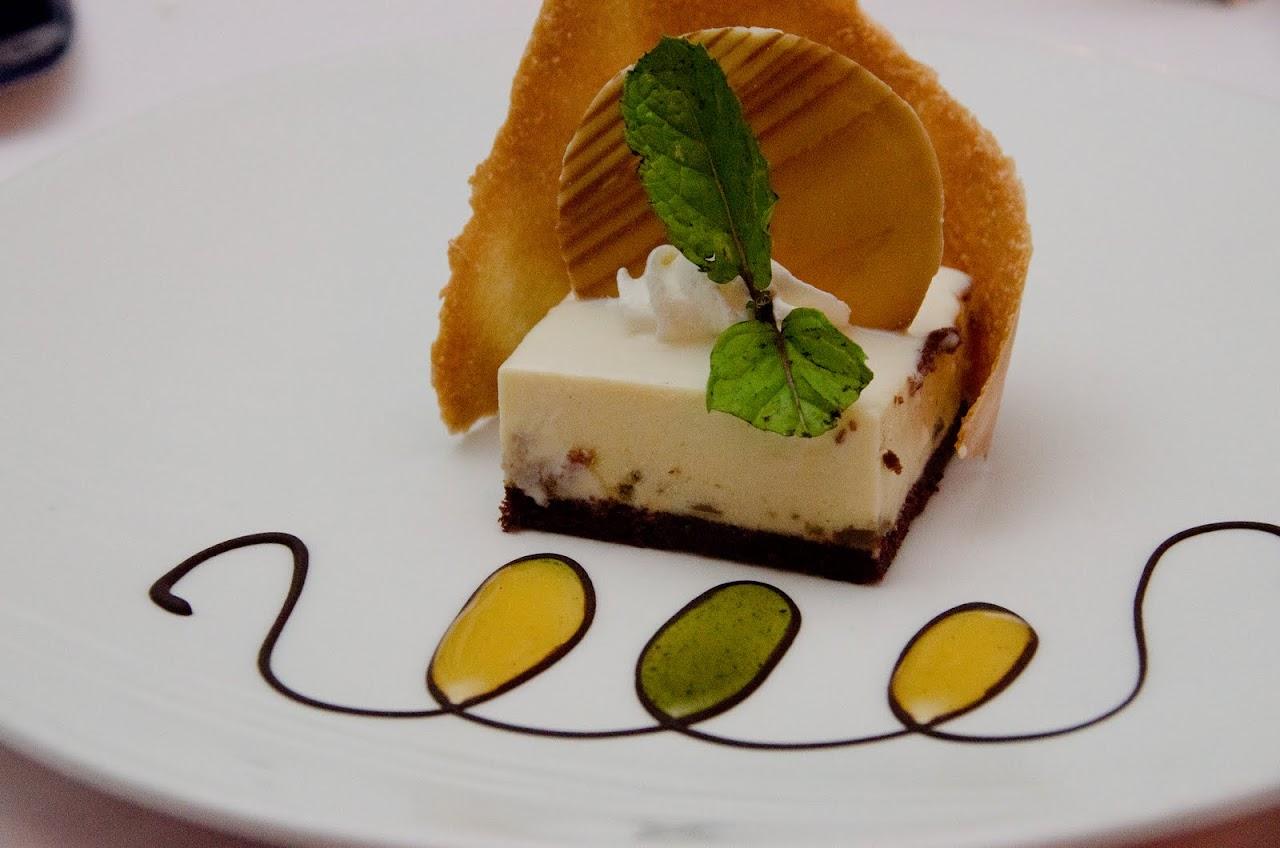 Dessert at Casanova restaurant