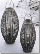 Oval Bamboo Lanterns