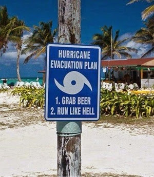 hurricane sign