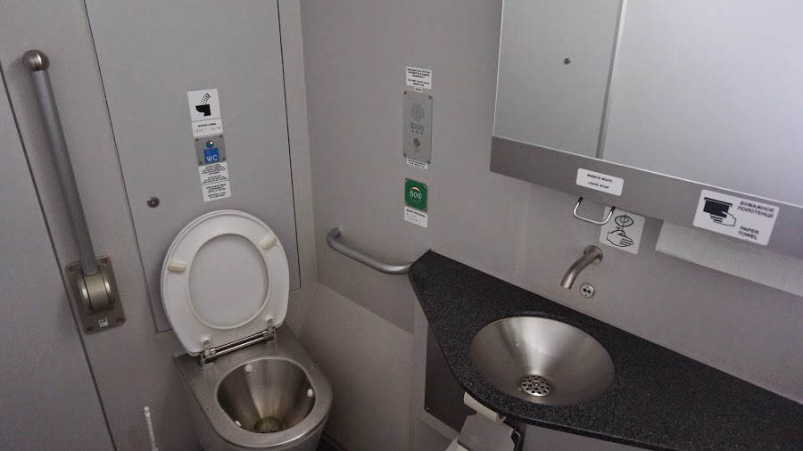 Туалет на Ласточке