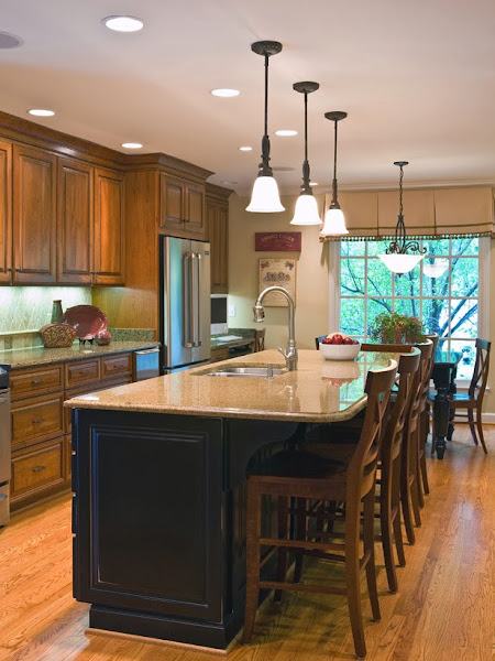 Kitchen Island Design Ideas ~ Kitchen island with seating casual cottage