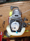 Ryobi blower stale fuel and loose Head bolts