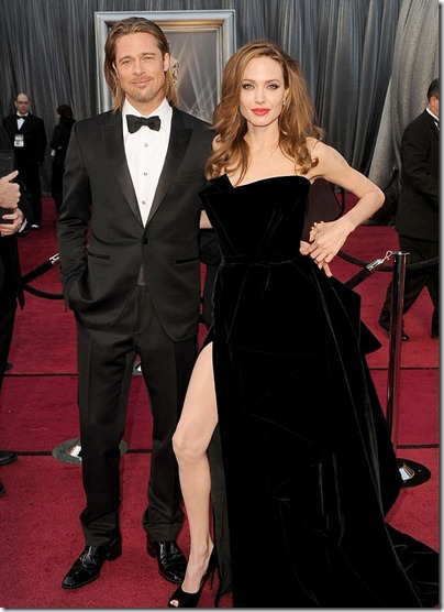 Angelina's right leg