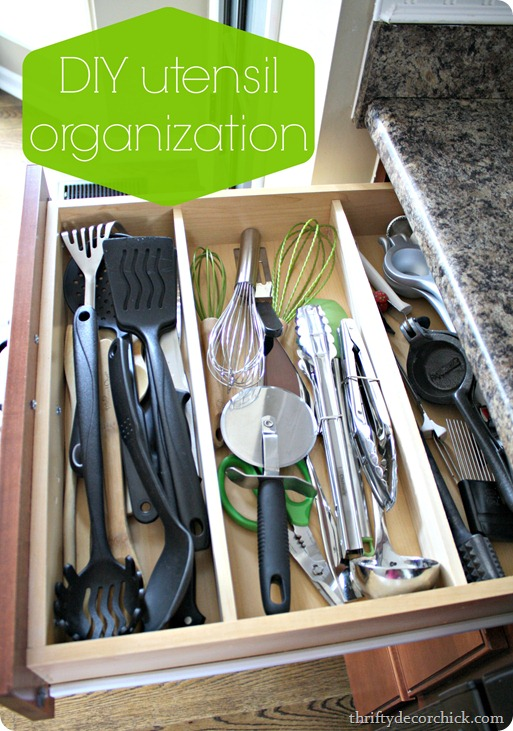 utensil drawer organization