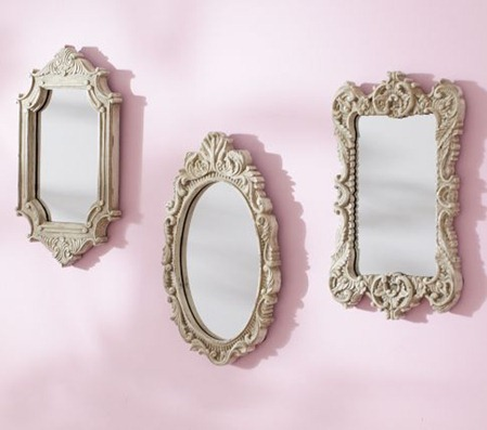 pottery barn kids mini mirrors