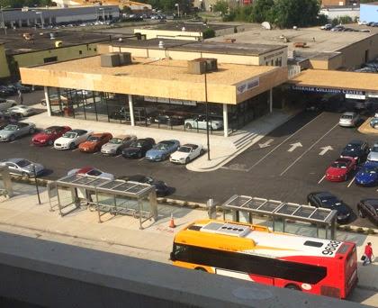 Bentley and buses