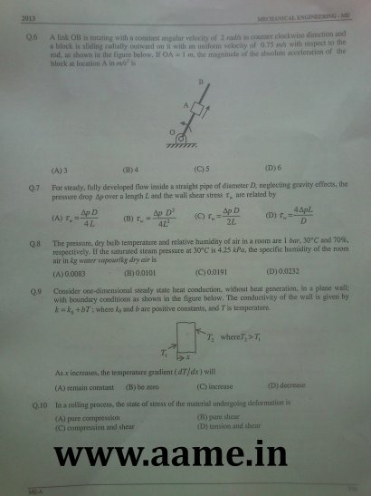 GATE-2013-Question-Paper-Mechanical-Engineering-ME-03-R