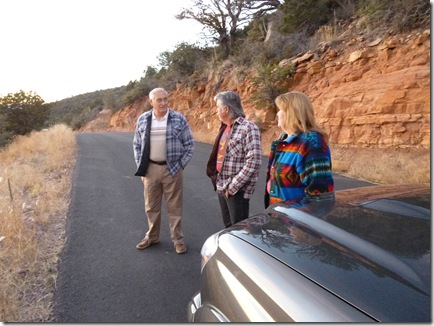 Our tour guides, Norm & Helen Agan