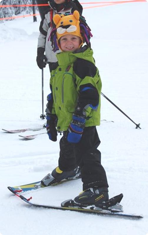 alexander on skis