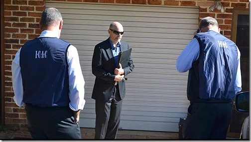 ICAC officials search Richard Torbay's house