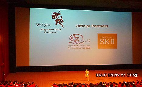 WU XIA SK-II Singapore  Gala Premiere