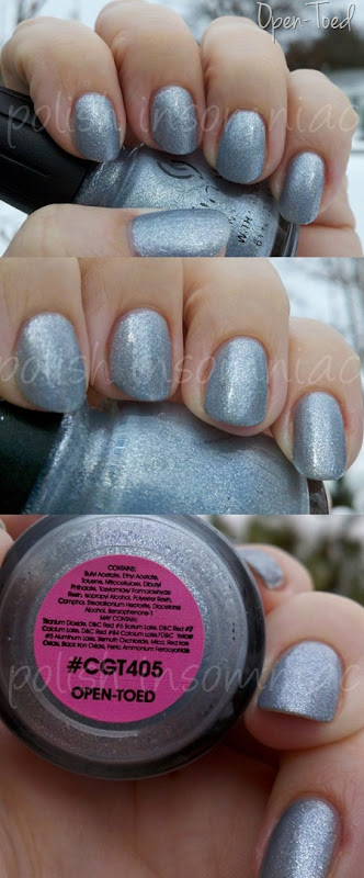 China Glaze Open-Toed - Throwback Thursday