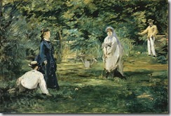 Manet - The Croquet Game