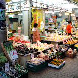 vegetable market in ueno in Ueno, Tokyo, Japan