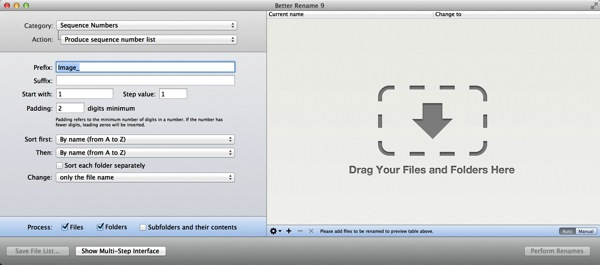 Mac app utilities better rename91