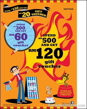 Paul-Frank-RM120-Gift-Voucher-2011-EverydayOnSales-Warehouse-Sale-Promotion-Deal-Discount