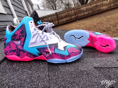 nike lebron 11 id production gumbo angel 1 01 Nike LeBron XI Gumbo iD Designed and Build by Angel
