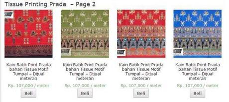 » Tissue Printing Prada Archive - TimikaUnique page 2