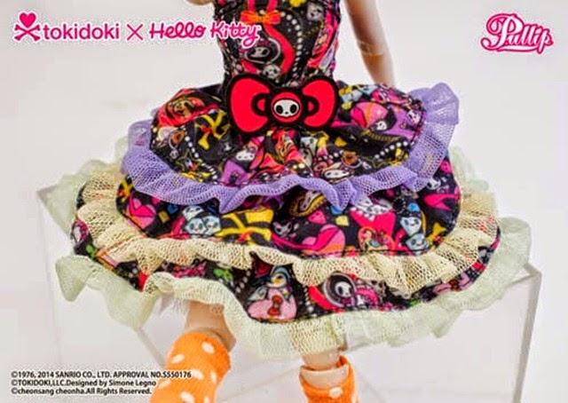 Pullip Violetta Tokidoki x Hello Kitty 12