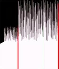 Representación visual de 15 algoritmos diferentes de ordenamiento