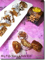 Anjeer Dates Fruits Roll
