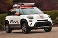 """The Fiat 500L Adventurer illustrates the versatility of the new five-seater, with modifications that transform the vehicle and equip it with a tough, rugged appearance. It is one of 20 Mopar-modified vehicles that are headed to the 2013 SEMA show in Las Vegas in November."""
