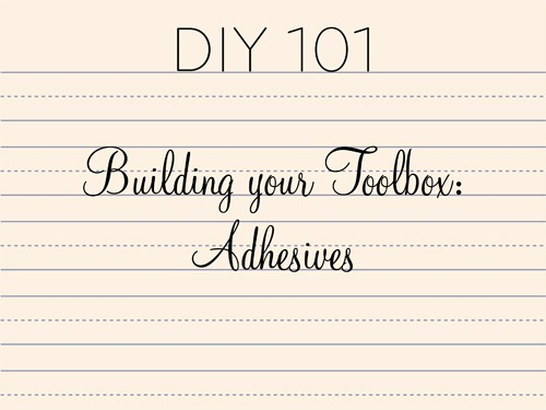 Building Your Toolbox 101