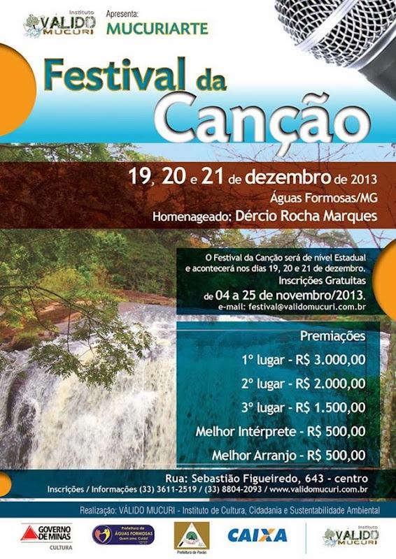 Cartaz Festival da Canção