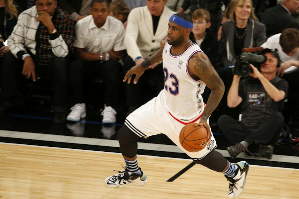 King James Puts on a Show in Nike LeBron 12 AllStar Game Edition