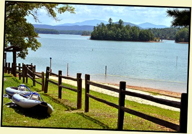 19c - Tuesday - Nottely Lake Kayak - Poteete Creek Rec Area - preparing to kayak Lake Nottely
